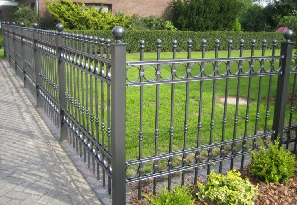 fence. ornamental iron 2
